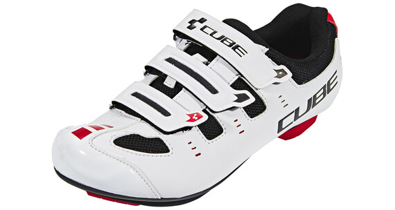 Cube Road CMPT Schuhe Unisex white'n'red